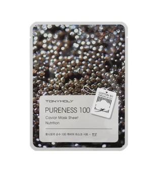 Tony Moly Pureness 100 Caviar Mask Sheet Lakštinė veido kaukė su ikrais, 1vnt. | inbeauty.lt