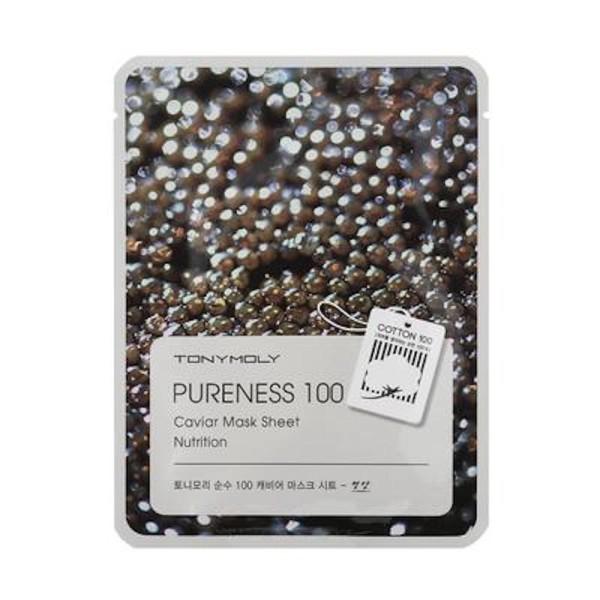 Pureness 100 Caviar Mask Sheet Lakštinė veido kaukė su ikrais, 1vnt.