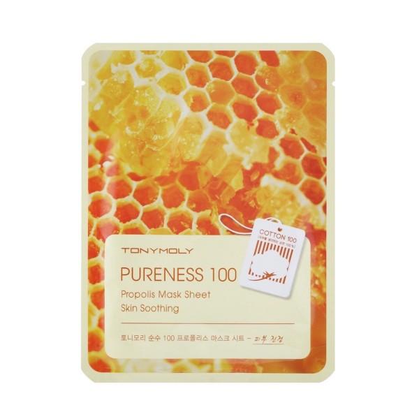 Pureness 100 Propolis Mask Sheet Lakštinė veido kaukė su propoliu, 1vnt.