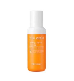 Tony Moly Vital Vita 12 Synergy Serum Skaistinamasis veido serumas su vitaminais, 50ml   inbeauty.lt