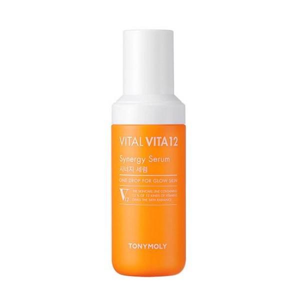 Vital Vita 12 Synergy Serum Skaistinamasis veido serumas su vitaminais, 50ml