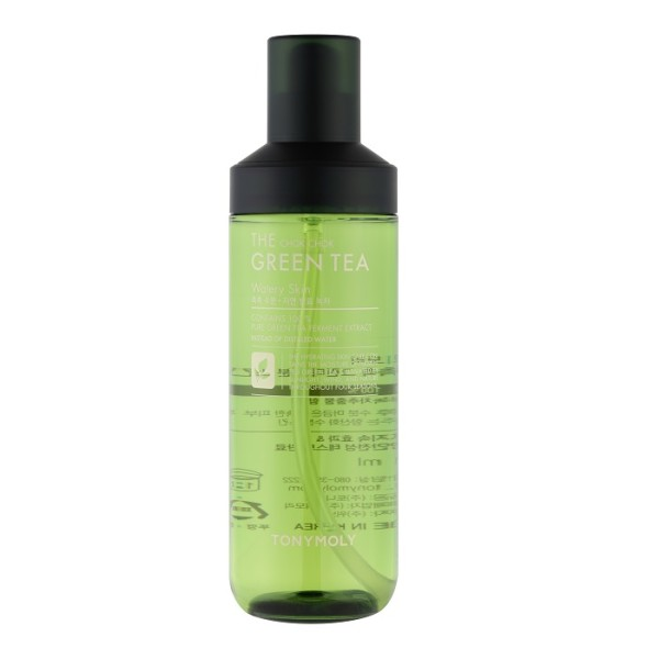 The Chok Chok Green Tea Watery Skin Toner Veido tonikas su žaliąja arbata, 180ml