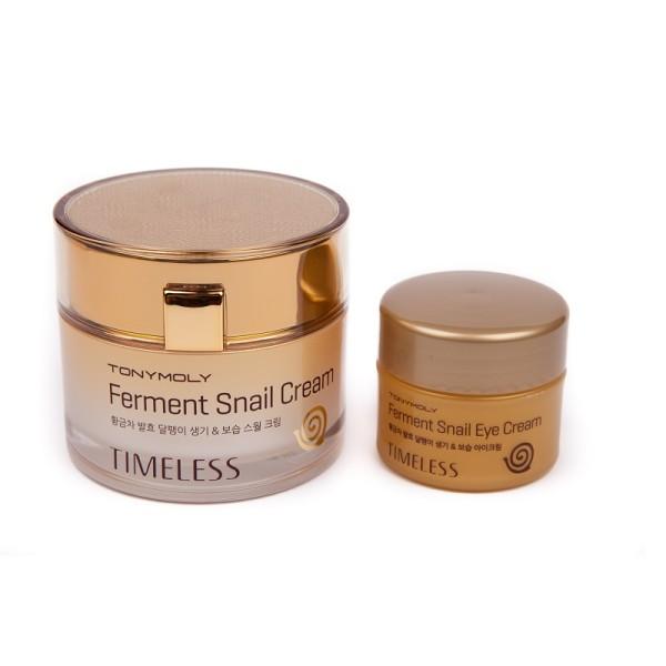 Timeless Ferment Snail Cream Set Drėkinamųjų veido kremų rinkinys, 1vnt