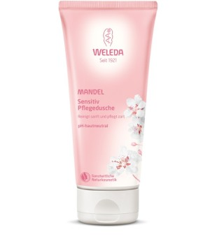 Weleda Almond Sensitive Body Wash Jautrios odos prausiklis su migdolais, 200ml | inbeauty.lt
