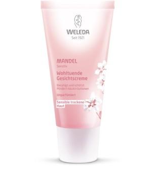 Weleda Almond Soothing Facial Cream Raminamasis veido kremas su migdolais, 30ml | inbeauty.lt