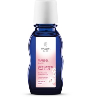 Weleda Almond Soothing Facial Oil Raminamasis veido aliejus, 50ml | inbeauty.lt