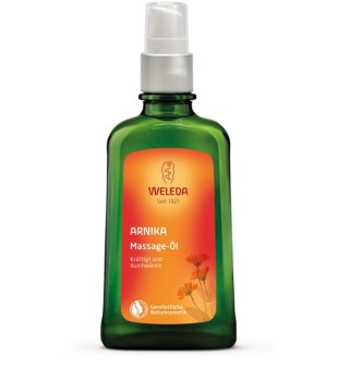 Arnica Massage Oil Masažinis aliejus su arnikomis, 100ml