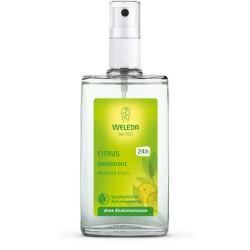 Citrus Deodorant Purškiamas dezodorantas su citrusiniais vaisiais, 100ml