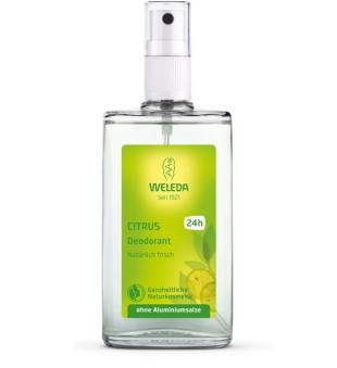 Weleda Citrus Deodorant Purškiamas dezodorantas su citrusiniais vaisiais, 100ml | inbeauty.lt