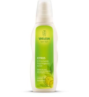 Weleda Citrus Hydrating Body Lotion Kūno pienelis su citrusiniais vaisiais, 200ml | inbeauty.lt