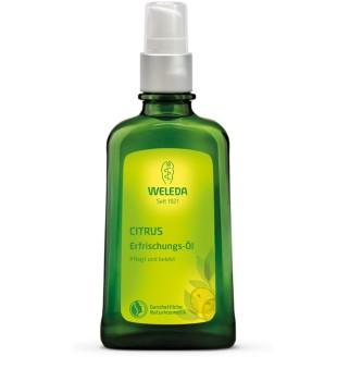 Weleda Citrus Refreshing Body Oil Kūno aliejus su citrusiniais vaisiais, 100ml | inbeauty.lt