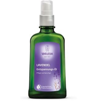 Weleda Lavender Relaxing Body Oil Kūno aliejus su levandomis, 100ml | inbeauty.lt
