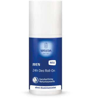 Weleda Men 24h Roll-On Deo Rutulinis dezodorantas vyrams, 50ml | inbeauty.lt