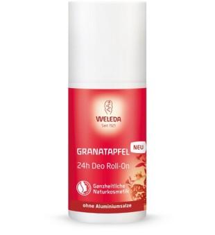 Weleda Pomegranate 24h Roll-On Deo Rutulinis dezodorantas su granatmedžių ekstraktu, 50ml | inbeauty.lt