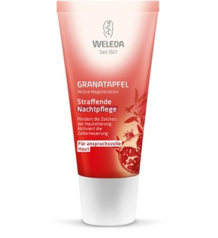 Weleda Pomegranate Firming Night Cream Stangrinamasis naktinis veido kremas, 30ml | inbeauty.lt