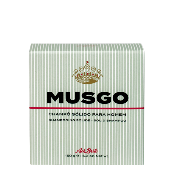 Musgo Solid Shampoo Kietas šampūnas vyrams, 150g
