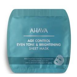 Age Control Even Tone & Brightening Sheet Mask Skaistinamoji lakštinė vaido kaukė, 1vnt