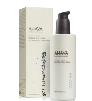 Ahava Dead Sea Water Mineral Body Lotion Drėkinamasis kūno losjonas, 250ml | inbeauty.lt