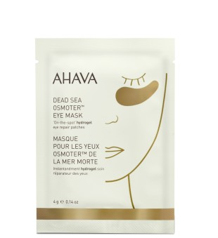Ahava Dead Sea Osmoter Eye Mask Paakių kaukė, 6 poros | inbeauty.lt