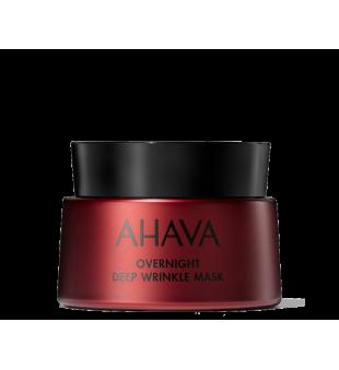 Ahava Overnight Deep Wrinkle Mask Veido kaukė nakčiai, 50ml | inbeauty.lt