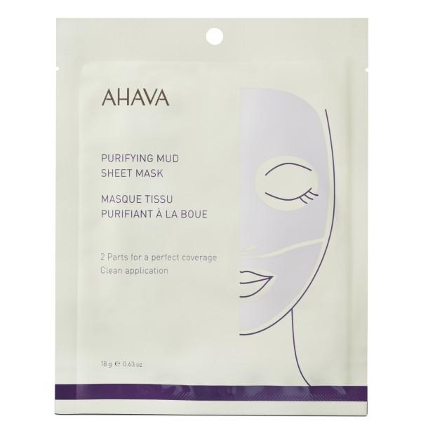Purifying Mud Sheet Mask Valomoji lakštinė veido kaukė, 1vnt