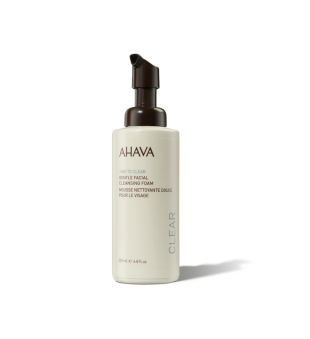 Ahava Time To Clear Gentle Facial Cleansing Foam Švelnios valomosios veido putos, 200ml | inbeauty.lt