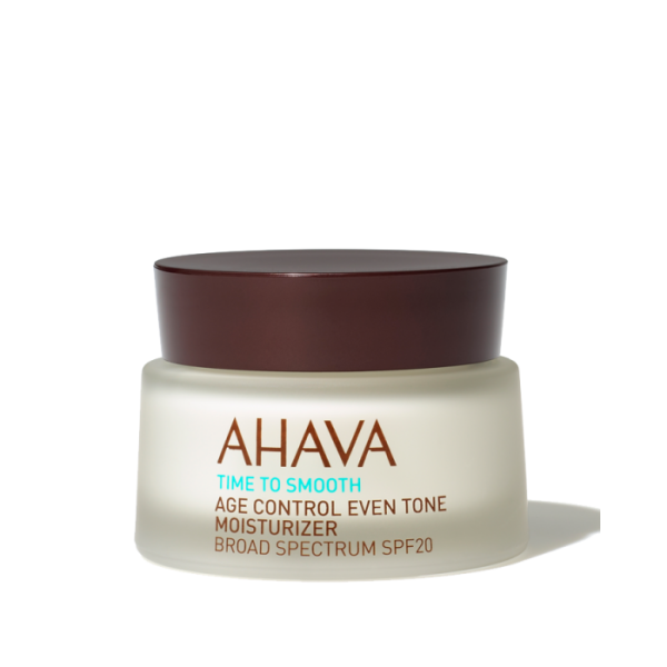 Time To Smooth Age Control Even Tone Moisturizer SPF20 Priešraukšlinis veido kremas, 50ml