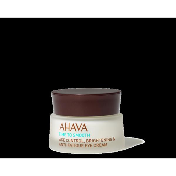Time To Smooth Age Control, Brightening & Anti-Fatigue Eye Cream Skaistinamasis paakių kremas, 15ml