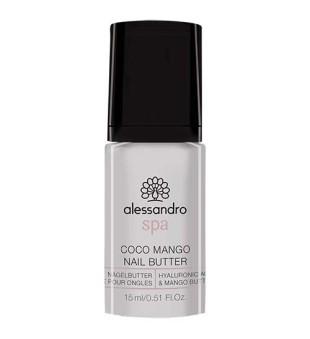 Alessandro Coco Mango Nail Butter Maitinamasis nagų ir odelių sviestas, 15g | inbeauty.lt