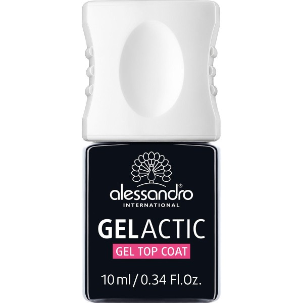 Gelactic Top Coat Gelinio efekto blizgus viršutinis sluoksnis, 10ml