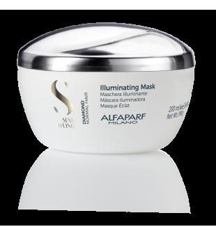 Alfaparf Milano Diamond Illuminating Mask Žvilgesio suteikianti plaukų kaukė, 200ml   inbeauty.lt