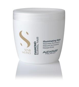 Alfaparf Milano Diamond Illuminating Mask Žvilgesio suteikianti plaukų kaukė, 500ml | inbeauty.lt