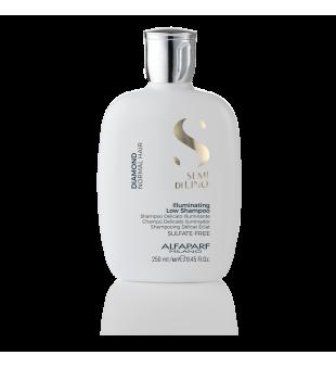 Alfaparf Milano Diamond Illuminating Low Shampoo Žvilgesio suteikiantis šampūnas, 250ml | inbeauty.lt