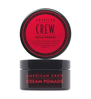 American Crew Cream Pomade Vidutinės fiksacijos kreminė pomada, 85g | inbeauty.lt