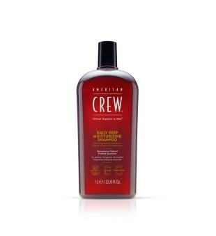 American Crew Daily Deep Moisturizing Shampoo Intensyviai drėkinantis šampūnas, 1000ml | inbeauty.lt