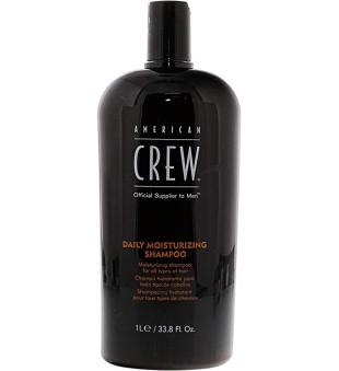 American Crew Daily Moisturizing Shampoo Drėkinantis šampūnas kasdienai, 1000ml | inbeauty.lt