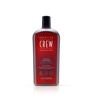American Crew Detox Shampoo Valomasis šampūnas besiriebaluojantiems plaukams, 1000ml | inbeauty.lt
