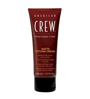 American Crew Matte Styling Cream Vidutinės fiksacijos plaukų formavimo priemonė, 100ml | inbeauty.lt
