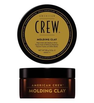 American Crew Molding Clay Modeliavimo molis trumpiems plaukams, 85g | inbeauty.lt