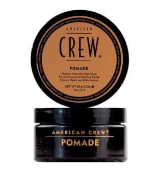 American Crew Pomade Vidutinės fiksacijos pomada, suteikianti žvilgesio, 85g | inbeauty.lt