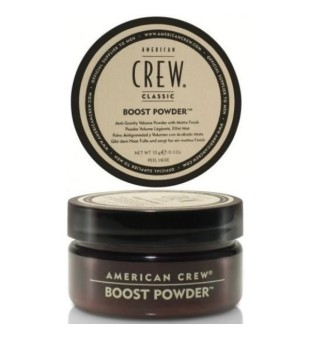 American Crew Boost Powder Pudra suteikianti apimties silpniems plaukams , 10 g | inbeauty.lt