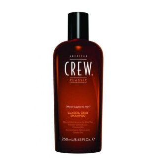 American Crew Classic Gray Shampoo Šampūnas žiliems plaukams, 250ml | inbeauty.lt
