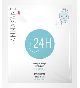 Annayake Moisturizing Face Mask With Rice Extract Drėkinanti veido kaukė, 1 vnt | inbeauty.lt