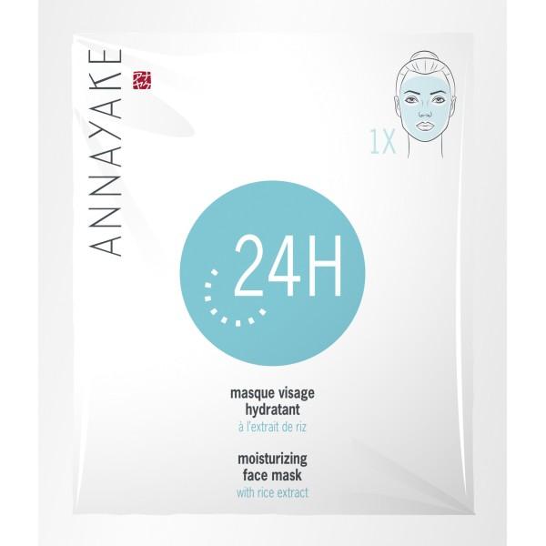 Moisturizing Face Mask With Rice Extract Drėkinanti veido kaukė, 1 vnt