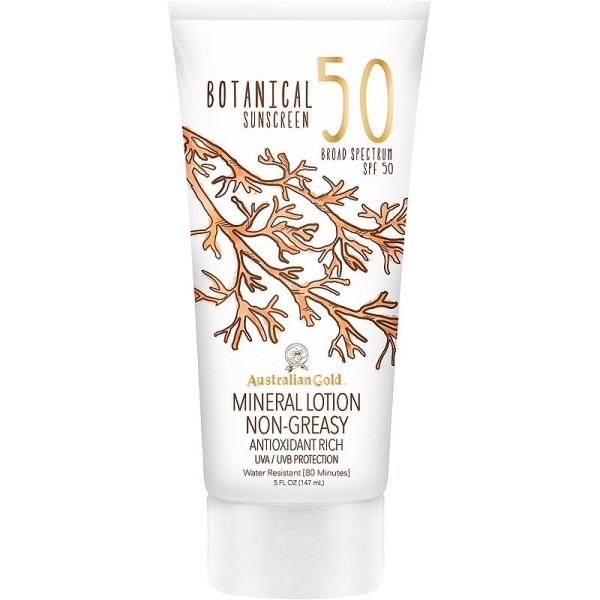 Botanical Sunscreen Mineral Lotion SPF50 Losjonas nuo saulės, 147ml