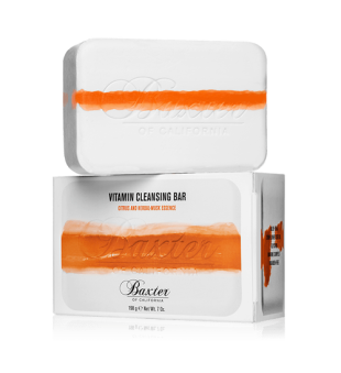 Baxter of California Vitamin Cleansing Bar Citrus & Herbal Musk Prausimosi muilas, 198g | inbeauty.lt