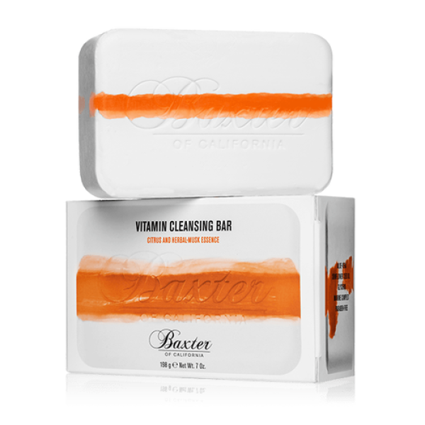 Vitamin Cleansing Bar Citrus & Herbal Musk Prausimosi muilas, 198g