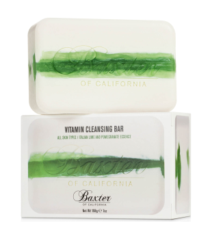 Baxter of California Vitamin Cleansing Bar Italian Lime & Pomegranate Prausimosi muilas, 198g | inbeauty.lt