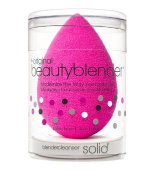 Beautyblender Original beautyblender + mini solid cleanser kit Makiažo kempinėlė ir mini muiliukas,1 kompl | inbeauty.lt