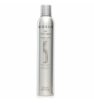 Biosilk Silk Therapy Finishing Spray Firm Hold Stiprios fiksacijos plaukų lakas, 284g | inbeauty.lt